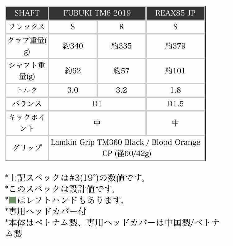 テーラーメイド M6 レスキュー #4 22度 FUBUKI TM6 カーボン S 日本仕様正規品 ユーティリティ フブキ 検索)M1 M2 M3 M5 M4 AD SIM_画像8