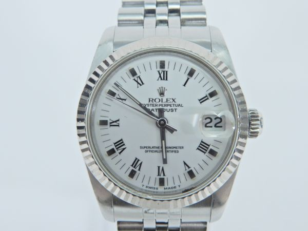 ROLEX ロレックス OYSTER PERPETUAL DATE JUST 68274 稼働品