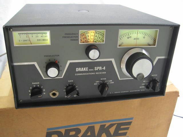 BCLSWL 極上品 DRAKE ドレーク SPR-4 後期 箱入 完全動作調整済品 レアモノ 高感度高性能