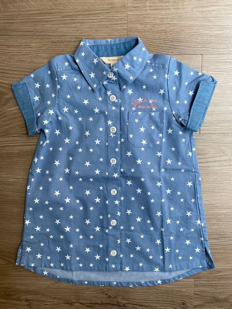 半袖シャツ ワンピース  90cm