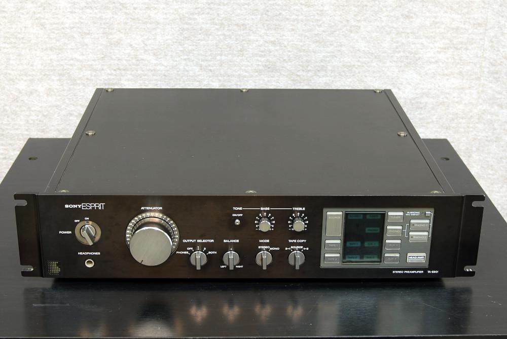 ジャンク!SONY(ESPRIT)のプリアンプ「TA-E901」を出品します。