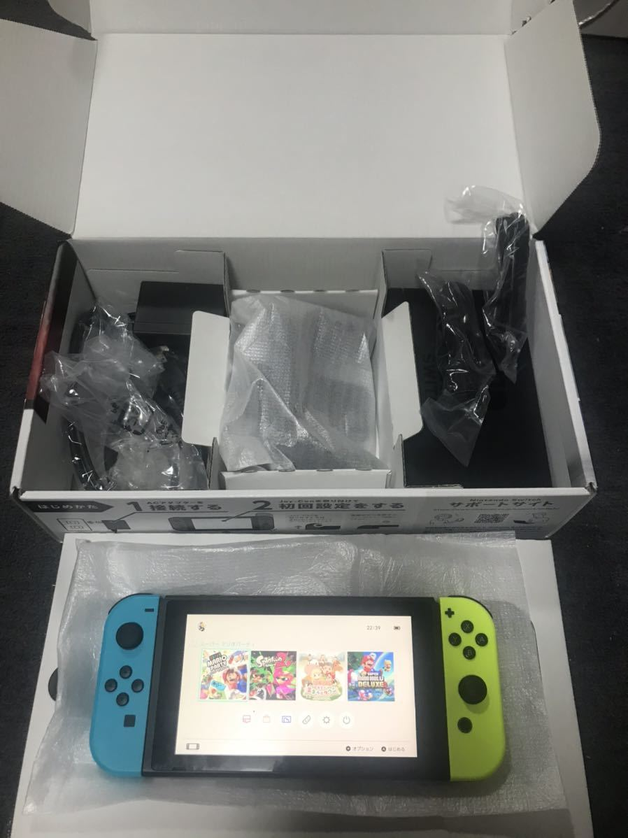 ニンテンドースイッチ本体 Nintendo Switch 動作確認済み