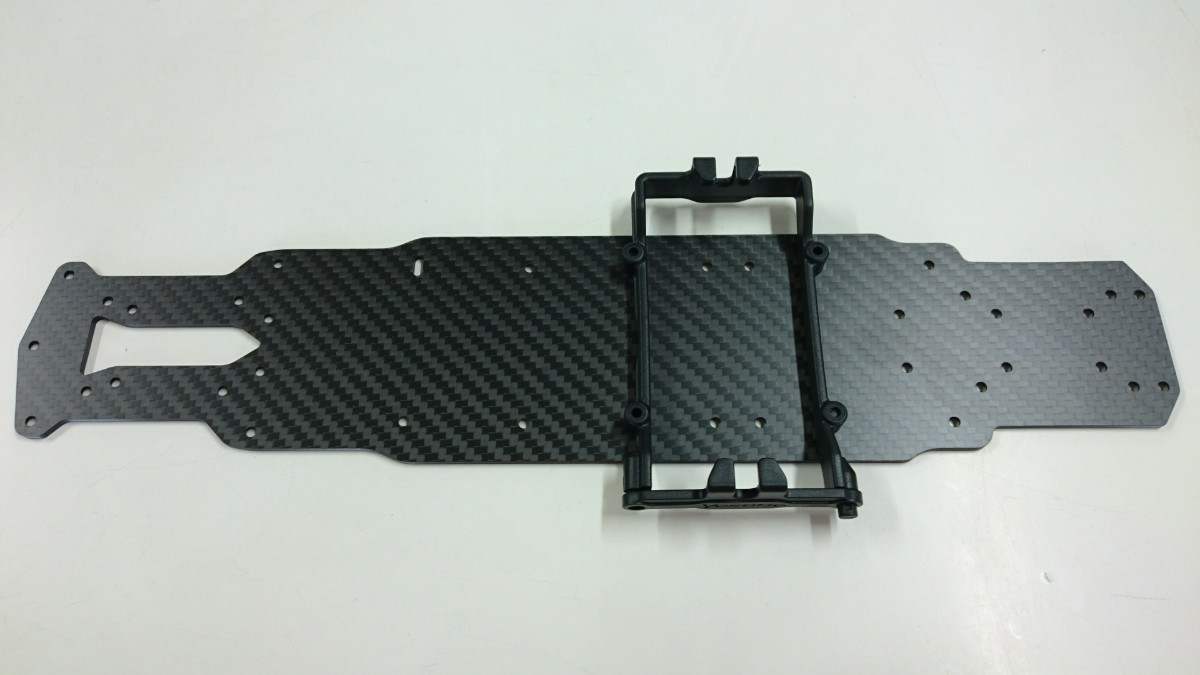 ラジコンパーツ ヨコモYD-2用 オリジナルカーボンメインシャーシ 2.5mm
