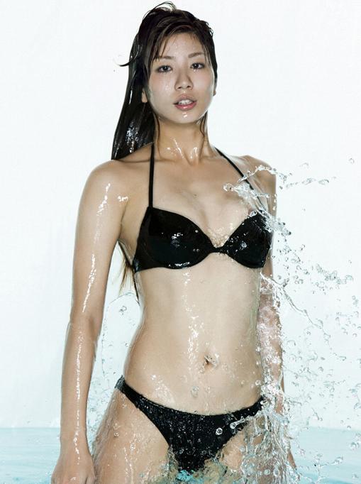 グラビア タレント シンクロ 青木愛5  Lサイズ10枚 水着、_画像5