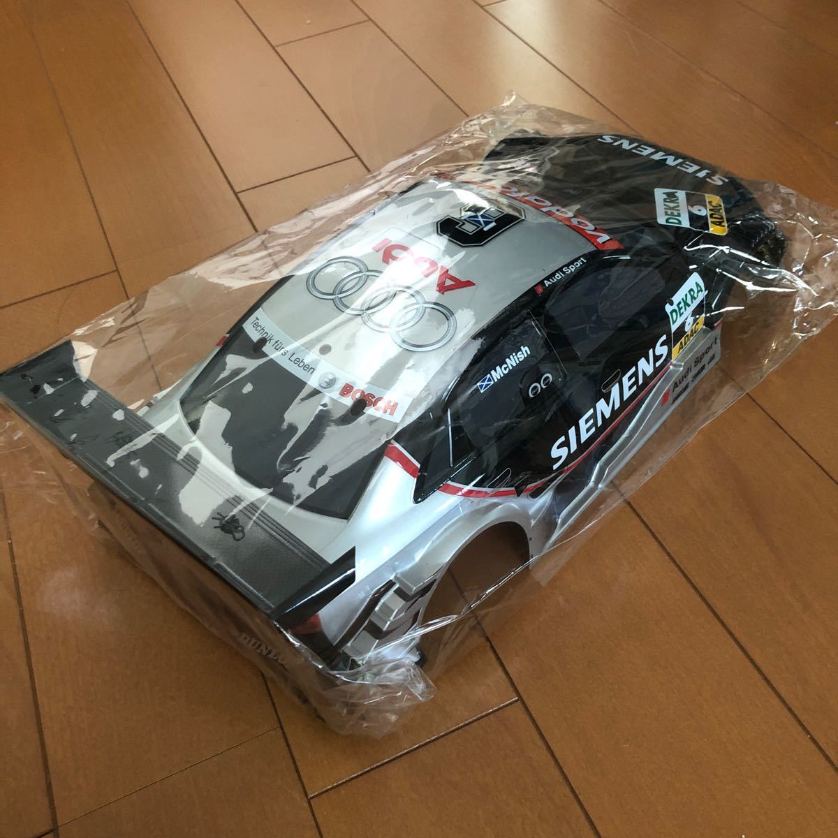 ラジコンボディ アウディ A4 GT