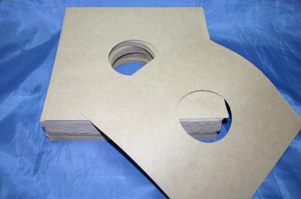 (サプライ) シングルレコード用 クラフト紙内袋100枚セット (C17Y)_画像1