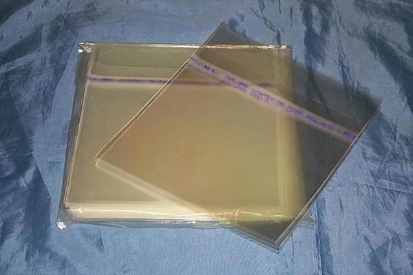 (サプライ) EP(シングル)レコード用、のり付き外袋 500枚(100枚x5パック)セット (O13)_画像1