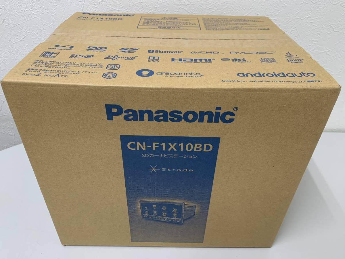 パナソニック ナビ 10V型 CN-F1X10BD フルセグ WIDE/SD/CD/DVD/USB/Bluetooth 19年 新品