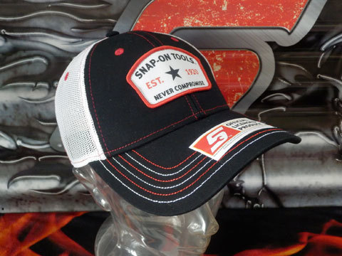 Snap-on(スナップオン)メッシュキャップ,帽子「SPECIAL EDITION TRUCKER CAP」_画像2