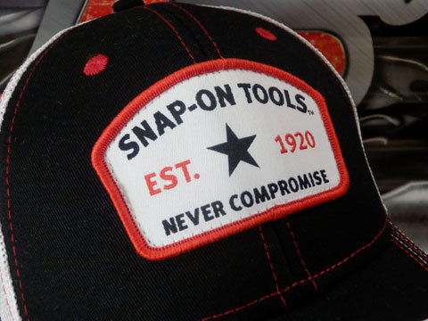 Snap-on(スナップオン)メッシュキャップ,帽子「SPECIAL EDITION TRUCKER CAP」_画像7