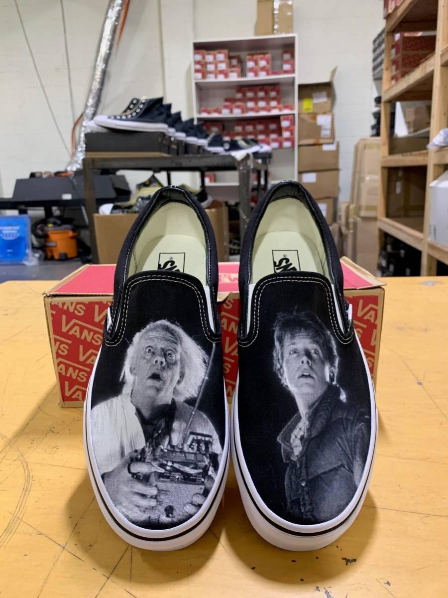 海外 限定 送料込み バック・トゥ・ザ・フューチャー シューズ 靴 サイズ各種_画像1