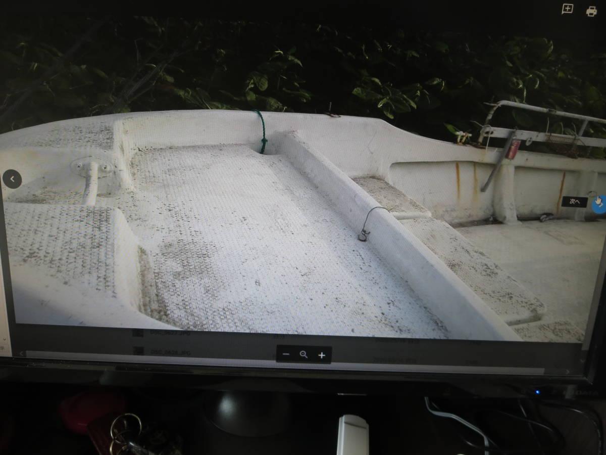 「ヤマハ W-25 デッキ張り センターキャビン付き ハル V型に加工済み 走破性抜群」の画像2