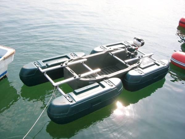 「新品 フロートボートZ1-(KAI)改用 追加フロート(イエロー)」の画像2