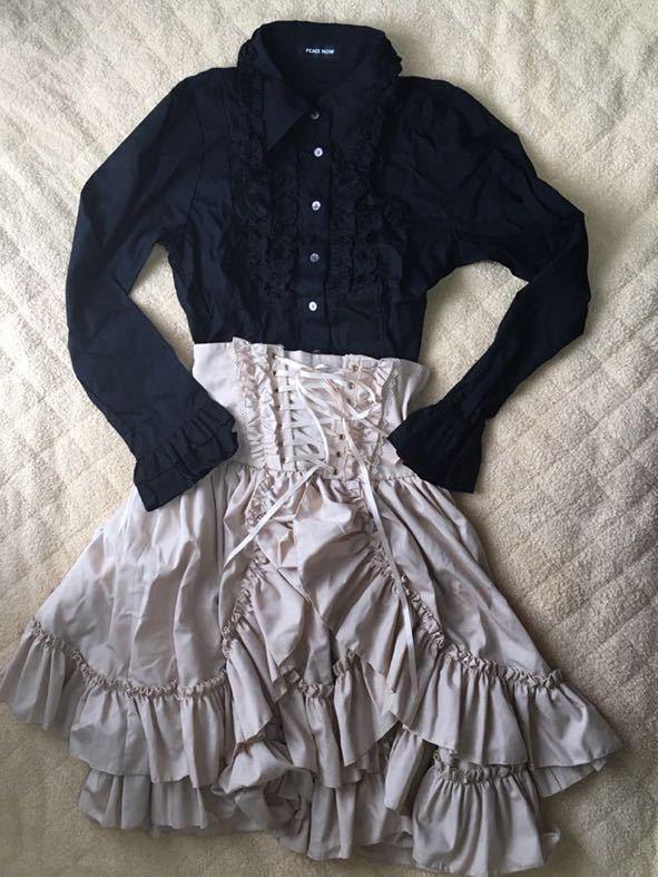 ゴスロリ系?清楚系?大人っぽくて可愛いレディース服3着セット 福袋 まとめ売り ピースナウ 、BODYLINE_画像2