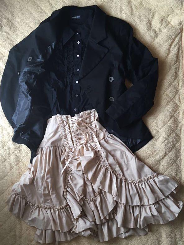 ゴスロリ系?清楚系?大人っぽくて可愛いレディース服3着セット 福袋 まとめ売り ピースナウ 、BODYLINE_画像1