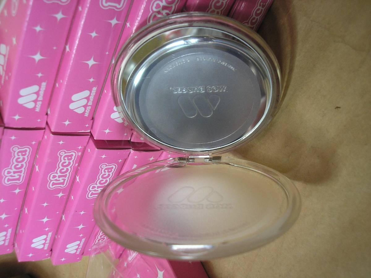 ●モスバーガー●リカちゃんコンパクトミラー 鏡 12箱まとめて!デッドストック 2009 TOMY #非売品#景品#当時物_画像3