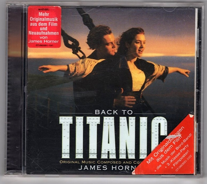 Back To Titanic (Music From The Motion Picture)~James Horner_画像1