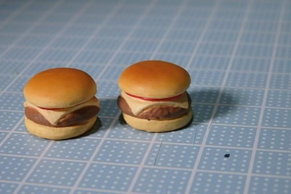 ♪280 リカちゃん 小物 食べもの チーズバーガー♪ドールハウス ミニチュア モスバーガー