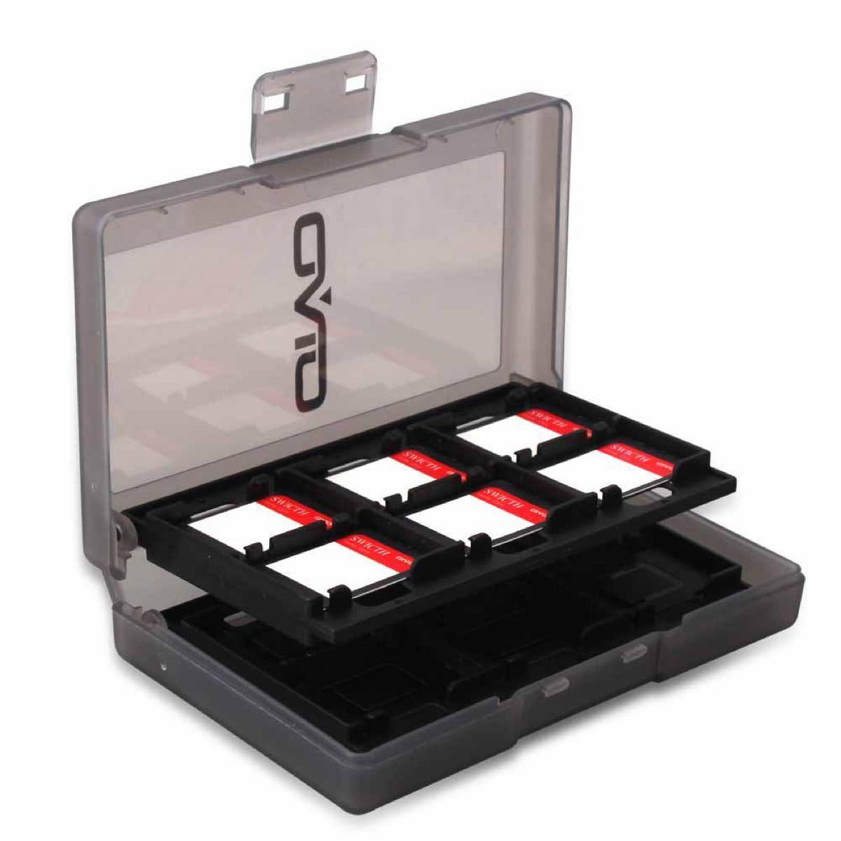 ニンテンドー スイッチ 対応 任天堂スイッチ カードケース24(ブラック)