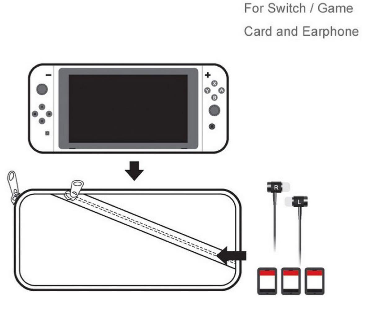 新品Nintendo Switchニンテンドー スイッチケース 専用ソフトポーチ