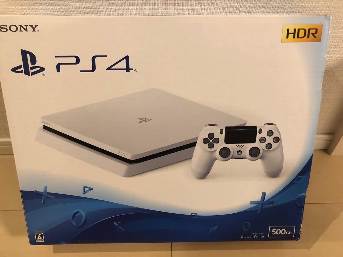 PS4本体 SONY CUH-2100AB02 ホワイト