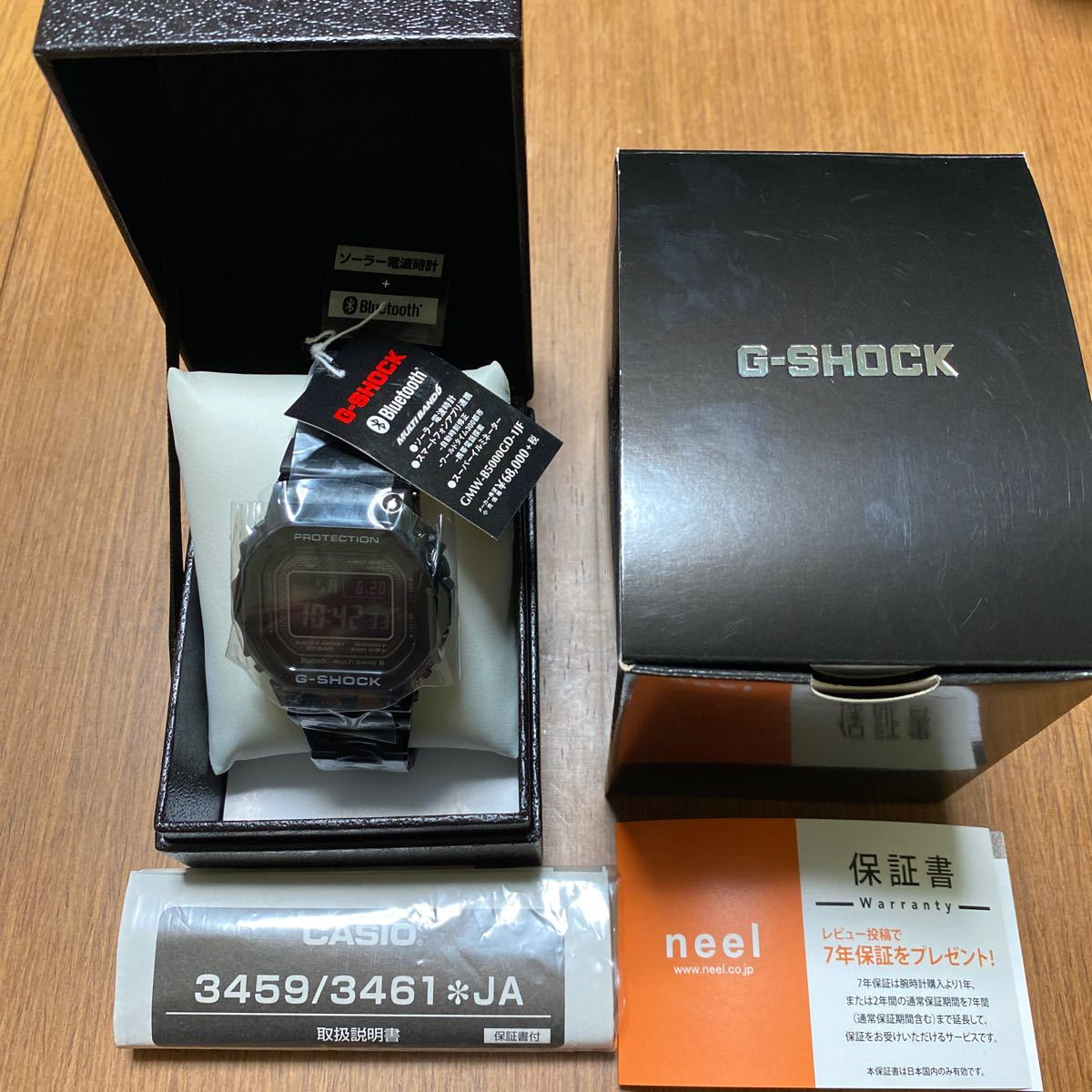 G-SHOCK GMW-B5000GD-1JF 新品未使用_画像2