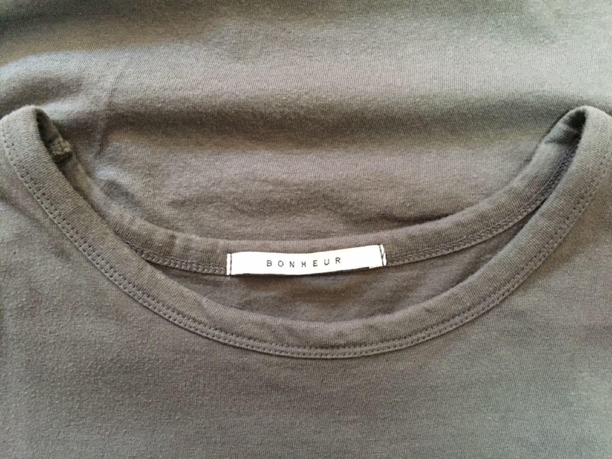 袖フリル  半袖Tシャツチュニック