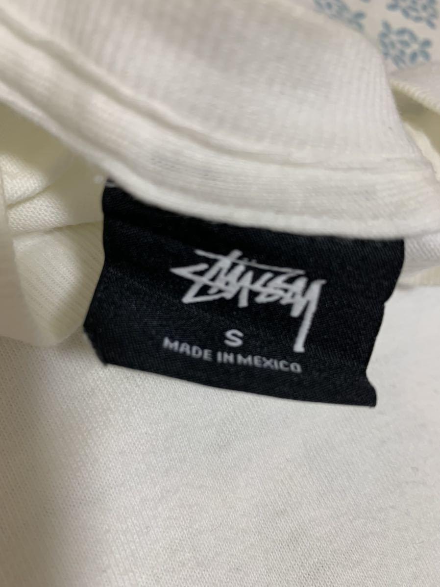 ☆本物保証 STUSSY☆ステューシー☆バックプリント Tシャツ☆Sサイズ_画像3