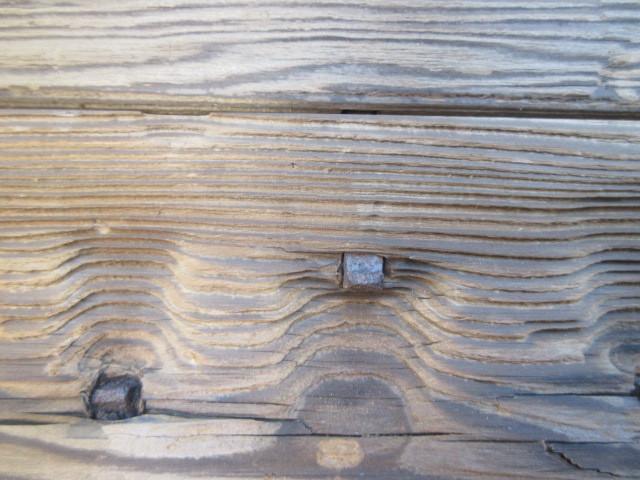 【湖華】古材/検)舟板茶道具煎茶結界盆栽看板建材店舗古民家カフェ20323F15_画像6