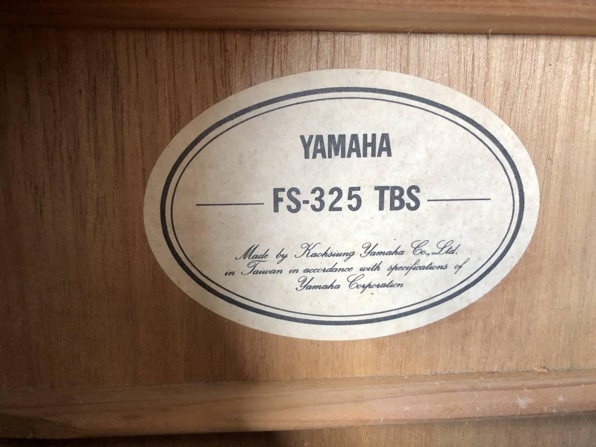 Y408☆YAMAHA/ヤマハ/アコースティックギター/FS-325 TBS_画像3
