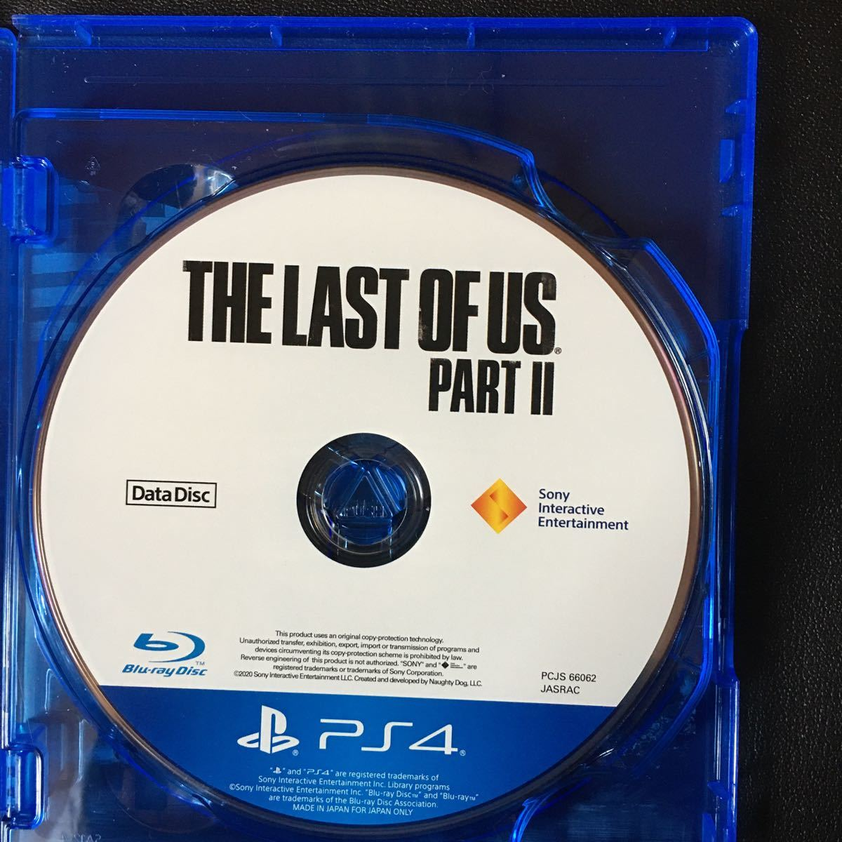 【PS4】 The Last of Us Part II 【予約特典未使用品】