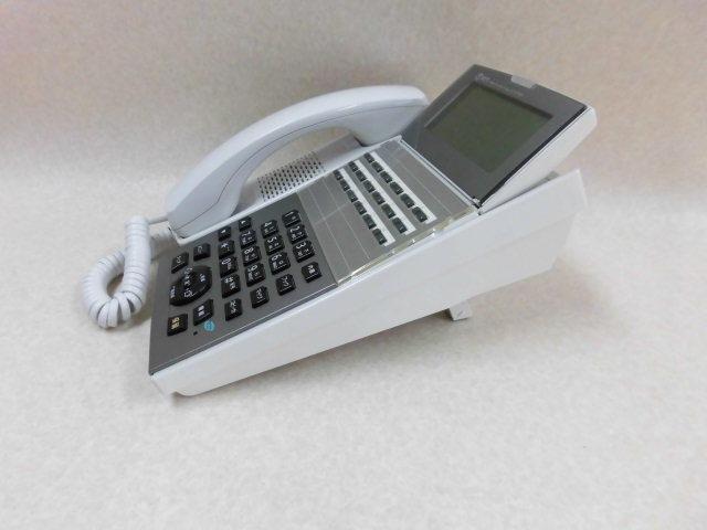 Ω ZZF1 3663♪ 保証有 13年製 NTT NX2-(18)BTEL-(1)(W) 18ボタンバス標準電話機 2台セット 動作品 ・祝10000!取引突破!同梱可_画像3