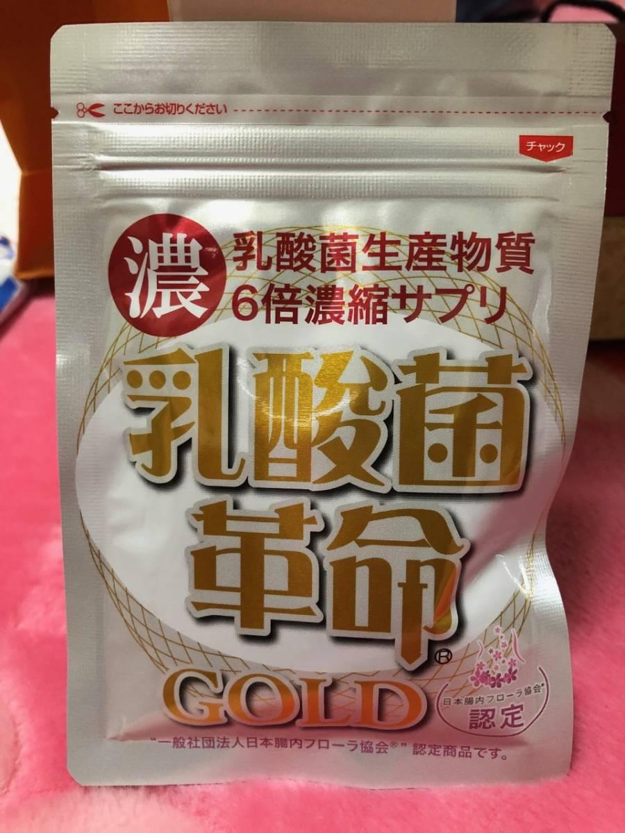 ★即決★ 乳酸菌革命 GOLD 62粒_画像1