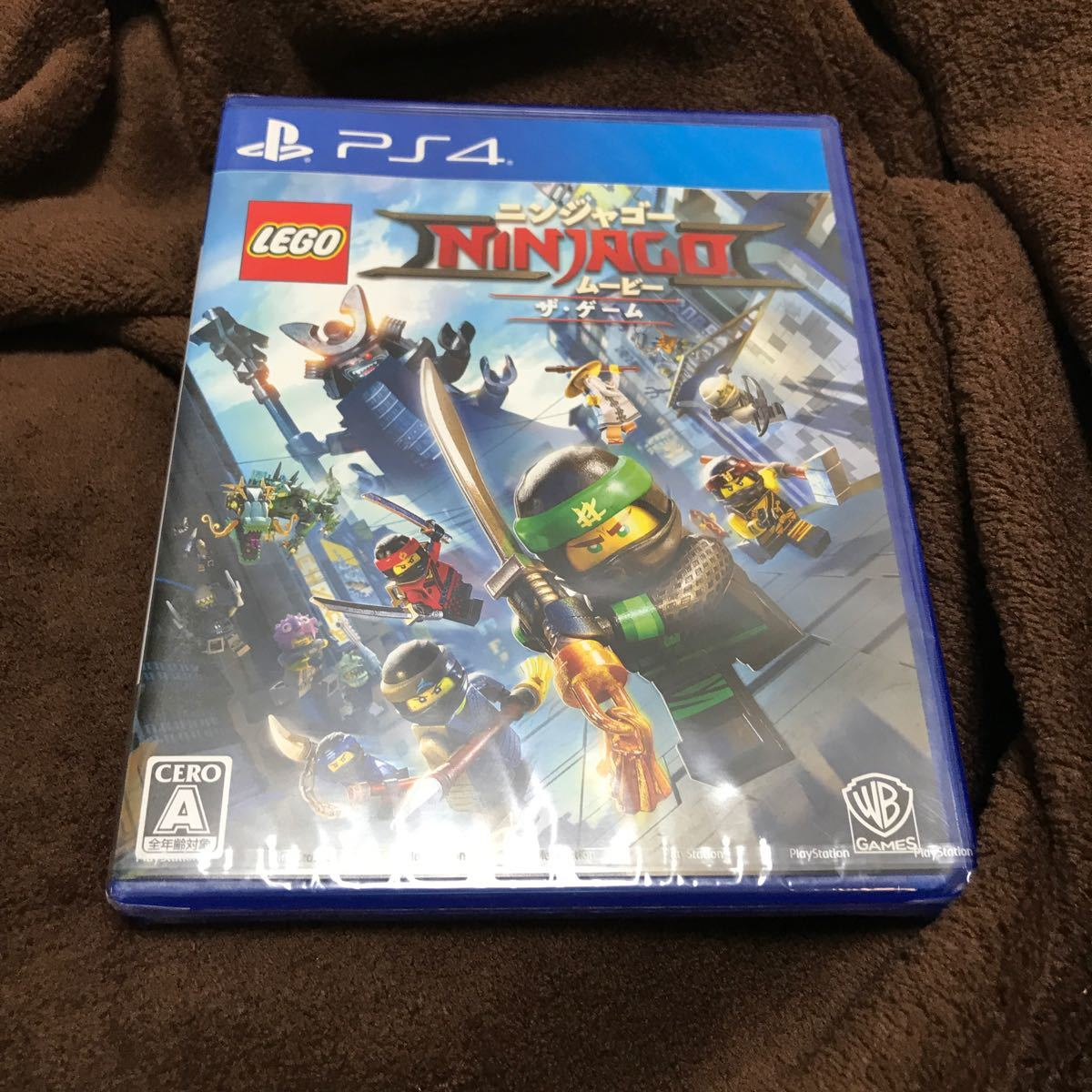【PS4】 レゴ ニンジャゴー ムービーザ・ゲーム未使用未開封品です