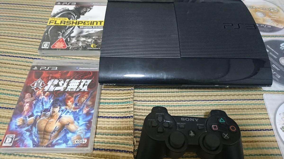 PlayStation34000B 最終型 薄型本体コントローラーセット