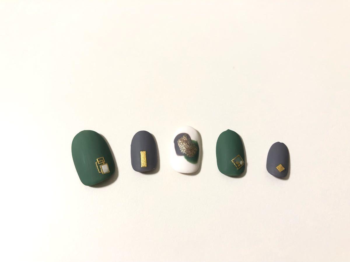 【デザイン番号8】ネイルチップ つけ爪