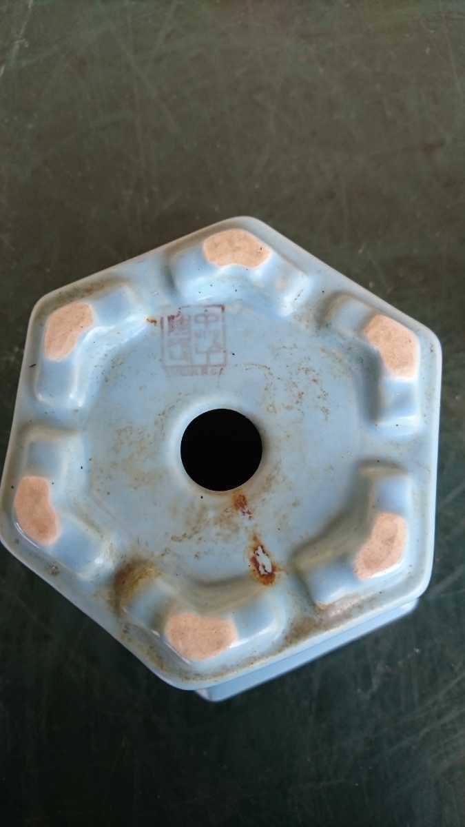 盆栽 鉢 中国 古盆器 幅12.8cm_画像10