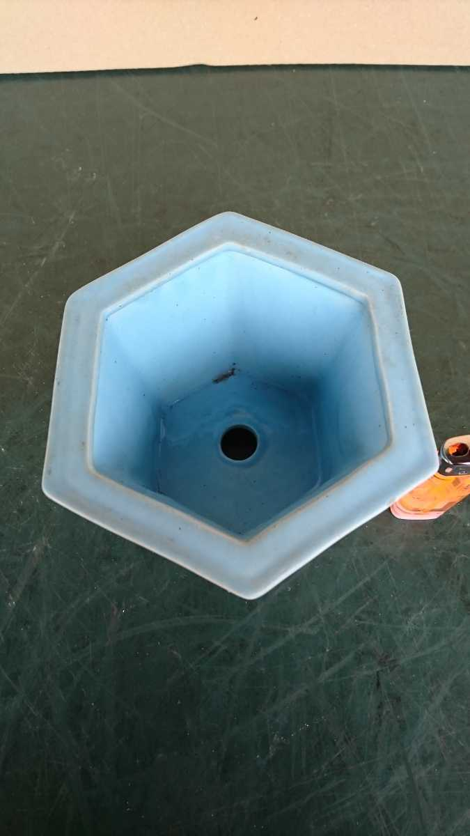 盆栽 鉢 中国 古盆器 幅12.8cm_画像2