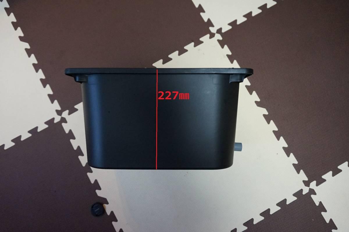 めだか オーバーフロー飼育容器 21L 2個セット☆送料込み¥3500 ★【検 メダカ 三色 ラメ 幹之 紅白 ダルマ 黒ラメ 個体_画像3