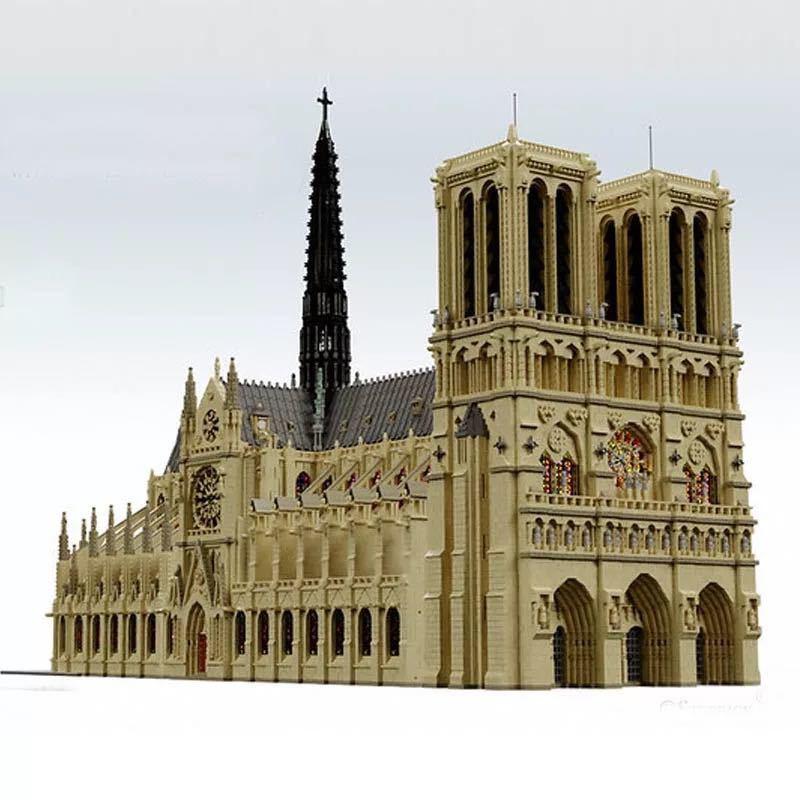 LEGO互換 ノートルダム大聖堂_画像2