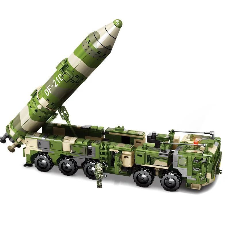 LEGO互換 DF21 対艦ミサイル_画像2