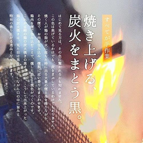 宮崎名物 焼き鳥 鶏の炭火焼 100g×10パック 鳥の炭火焼 コン おつまみ お取り寄せ_画像7
