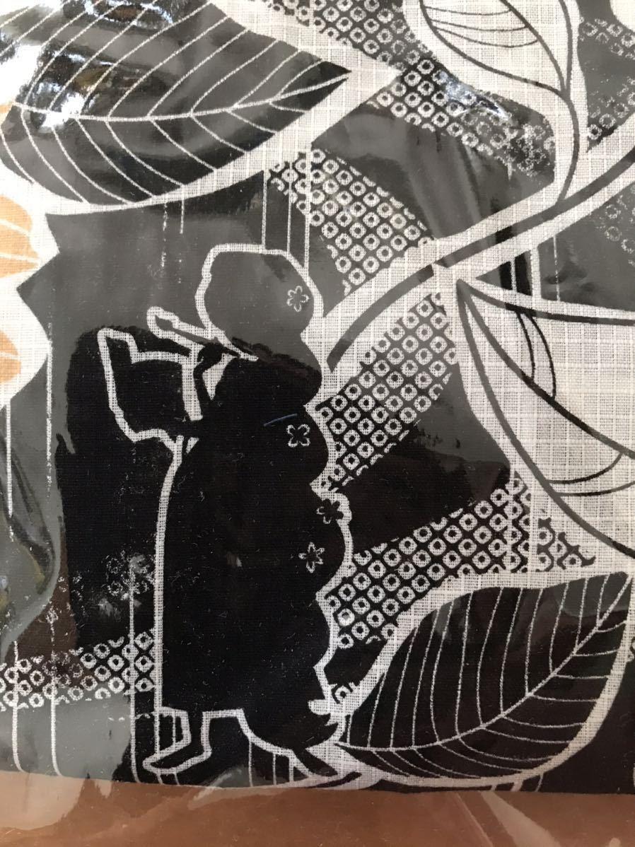 【未使用】浴衣ディズニー ラプンツェル3点セット(ゆかた・下駄・くるピタ簡単帯)_画像5