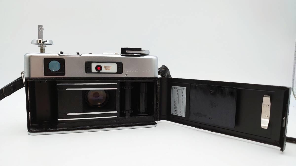 YASHICA ELECTRO35 GS ヤシカ エレクトロ35 GS レンズ 1:1.7 f=45㎜ カメラケース・レンズキャップ・ストラップ付 TT20200606_画像8