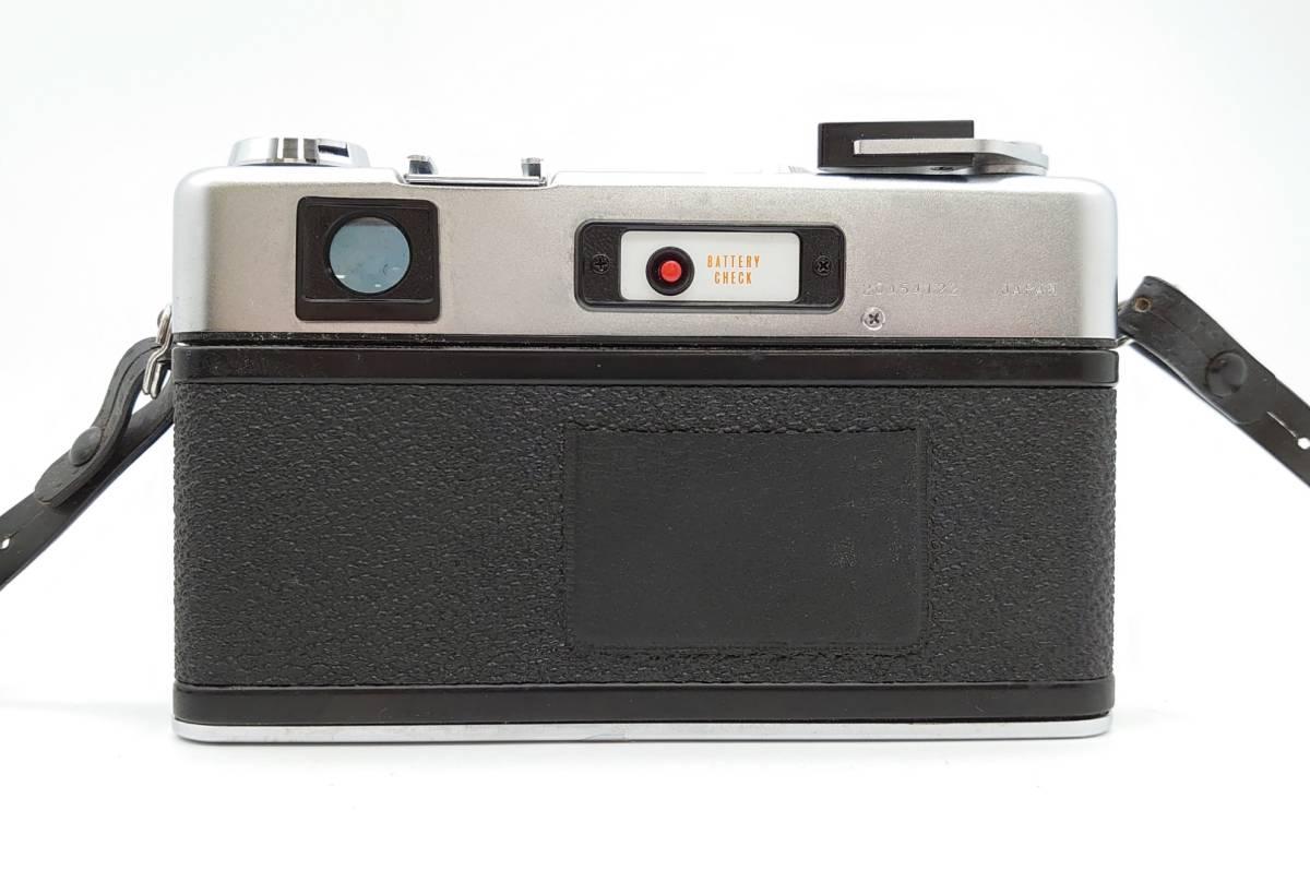 YASHICA ELECTRO35 GS ヤシカ エレクトロ35 GS レンズ 1:1.7 f=45㎜ カメラケース・レンズキャップ・ストラップ付 TT20200606_画像9