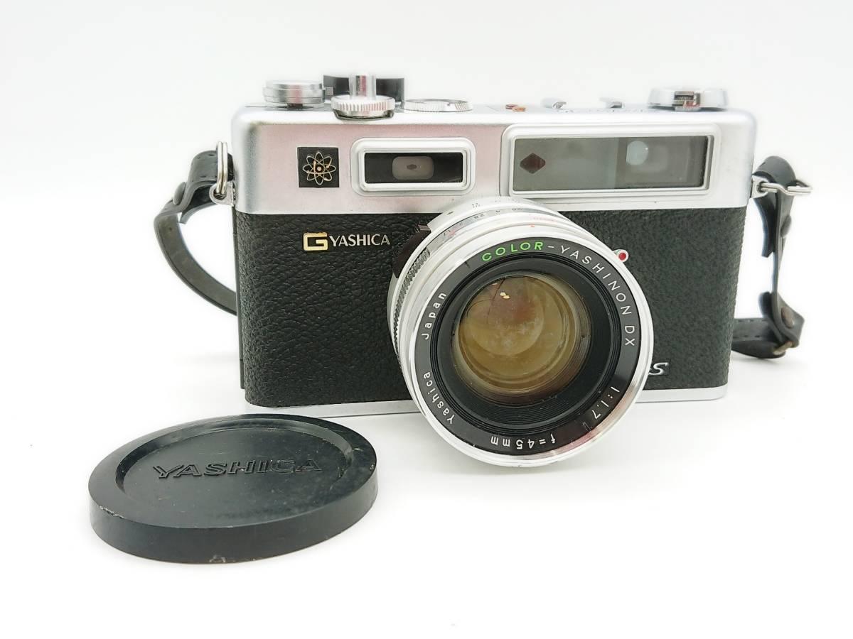 YASHICA ELECTRO35 GS ヤシカ エレクトロ35 GS レンズ 1:1.7 f=45㎜ カメラケース・レンズキャップ・ストラップ付 TT20200606_画像1