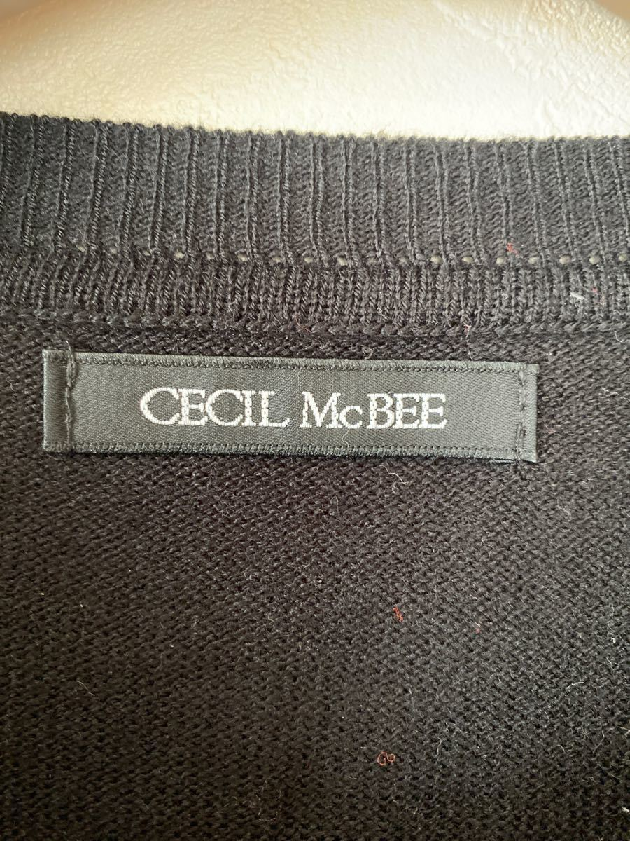 CECIL McBEE シースルーサマーニット!