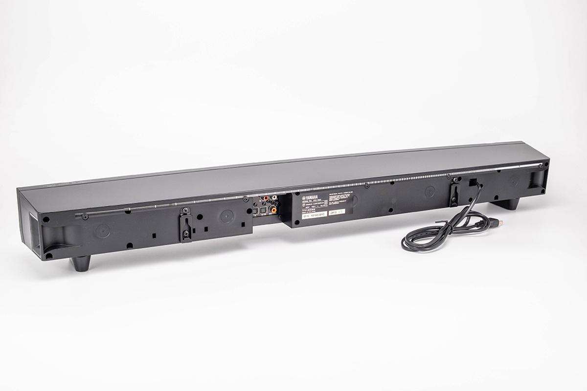 通電確認済み YAMAHA ATS-930 ヤマハ フロントサラウンドシステム リモコン 光ファイバーケーブル 取扱説明書付 中古 スピーカー _画像3