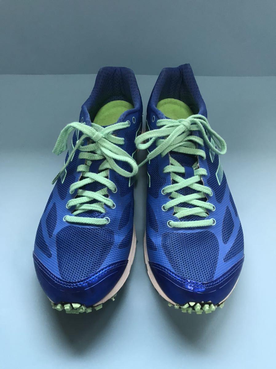 ★美品★ adidas/アディダス/アディゼロ フェザーRK2/adizero feather RK2/26.0cm/BY2455/ブルー/ランニング/ジョギング/シューズ