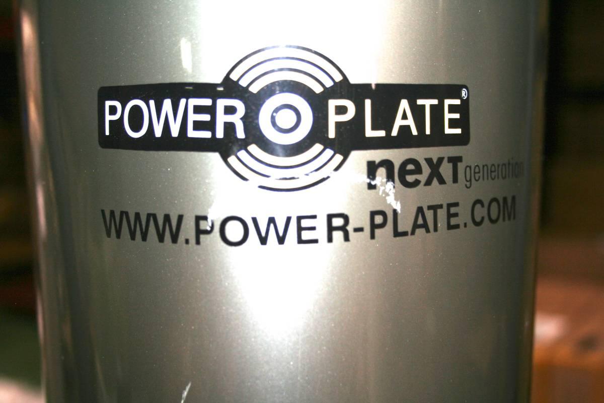 POWER PLATE パワープレート Next Generation 加速度トレーニングマシン 防振プレート付き 動作品_画像4